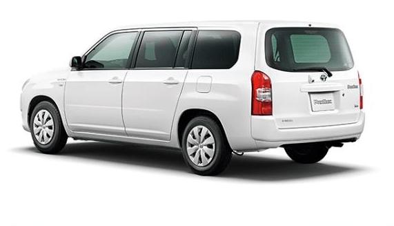 2020 Toyota Probox Hybrid side & rear view