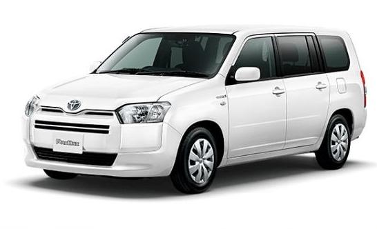 2020 Toyota Probox front View