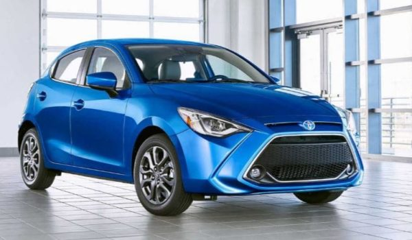 2020 Toyota Yaris & vitz front view