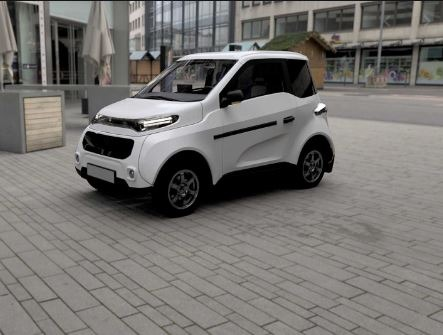 2020 Zetta all Electric Cheapest vehicle Side view