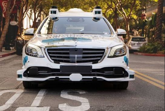 Autonomous Driving Tests Start by Mercedes and Bosch in san Jose.
