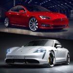 Tesla's Model 3 Test by Porsche's engineers for V-10 Update | Porsche Test Model 3 for Auto piloting & Summoning