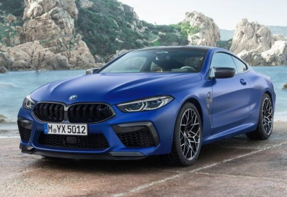 2020 BMW M8 Competition Coupe Front View
