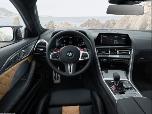 2020 BMW M8 Competition Coupe interior front cabin