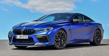 2020 BMW M8 Competition feature image