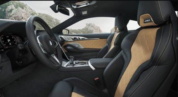 2020 BMW M8 Front seats