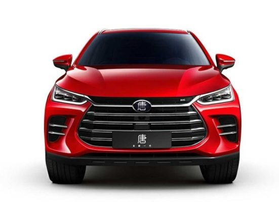2020 BYD Tang PHEV front view