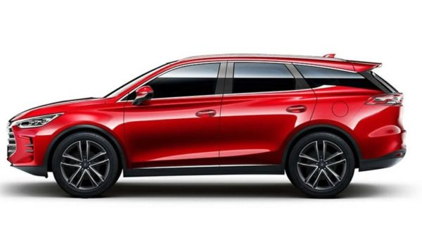 2020 BYD Tang PHEV side View