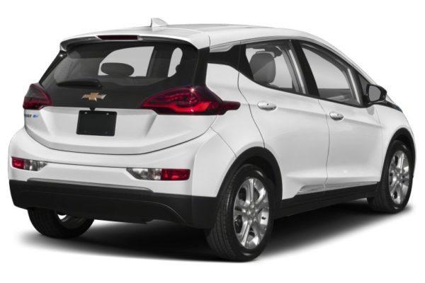 2020 Chevrolet Bolt EV Rear & Side view