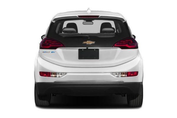 2020 Chevrolet Bolt EV Rear View