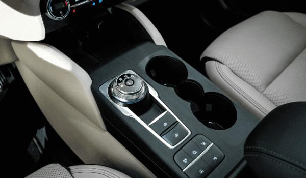 2020 Ford Escape interior quality view