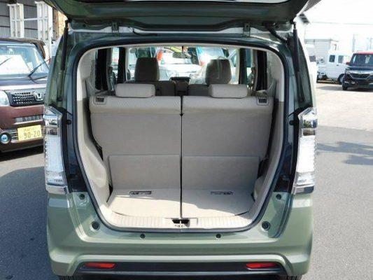 2020 Honda N Box Slash cargo area