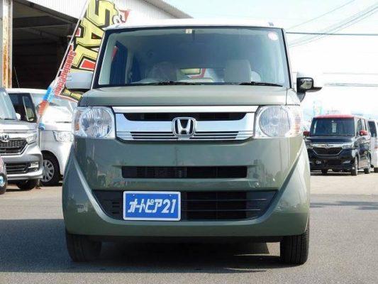 2020 Honda N Box Slash front headlights & grille