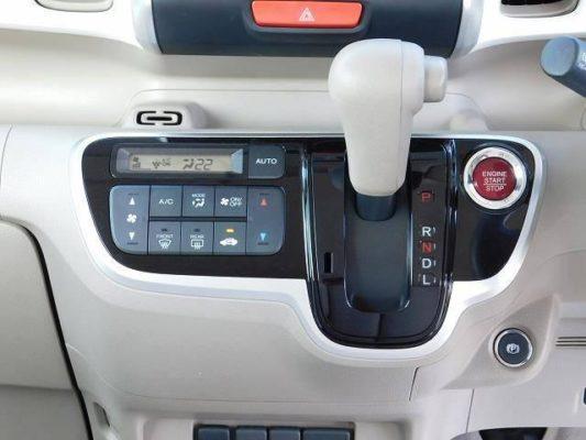2020 Honda N Box Slash transmission area