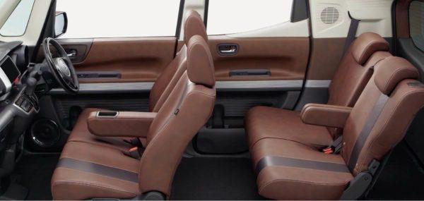 2020 Honda N box Slash Seats