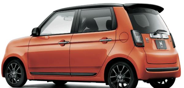 2020 Honda N-one Premium Rear View