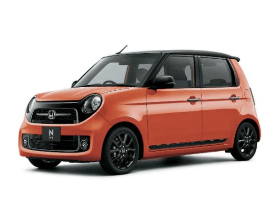 2020 Honda N-one Premium Side View