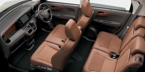 2020 Honda N-one Premium full Interior view