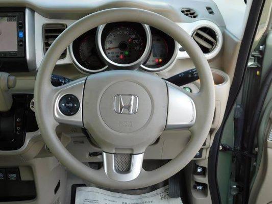 2020 Honda n box slash steering view