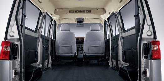2020 Jinbei X30 interior cargo view