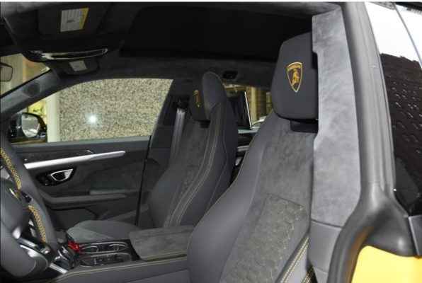 2020 Lamborghini Urus front seats