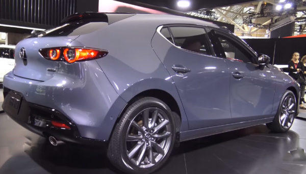 2020-Mazda-3-Hatchback-Rear-View