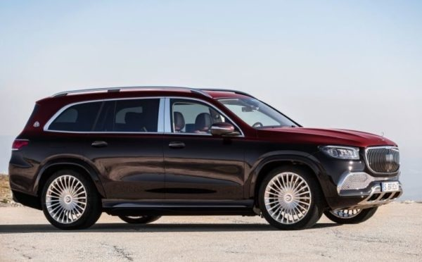 2020 Mercedes Benz maybach GLS 600 side view