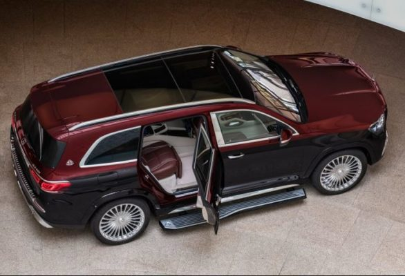 2020 Mercedes Benz maybach GLS 600 upside full view