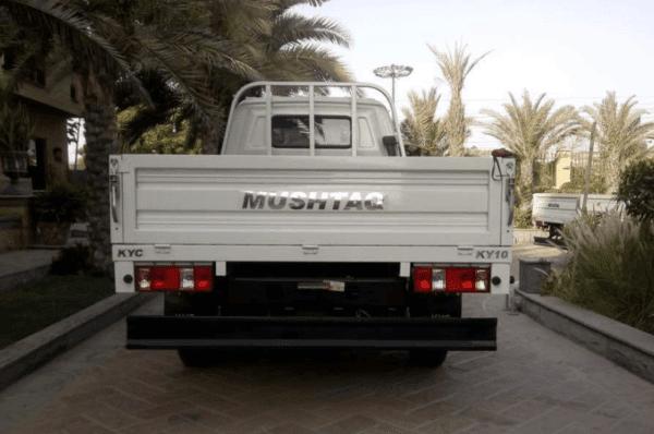 2020 Mushtaq KY10 Rear View