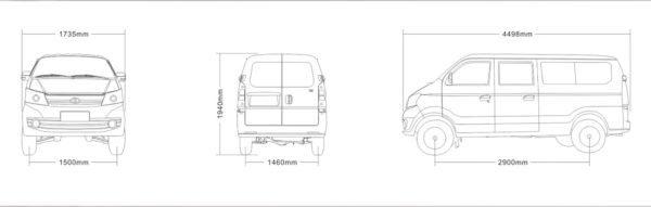 2020 Mushtaq V5 exterior dimensions