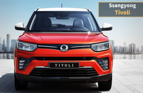 2020 SsangYong Tivoli front view