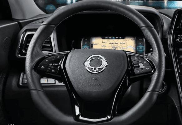 2020 SsangYong Tivoli steering wheel