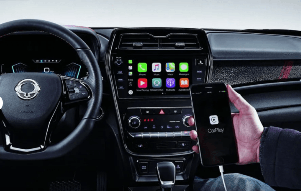 2020 SsangYong Tivoli supports apple car play & android auto