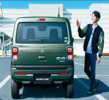 2020 Suzuki Hustler Rear View
