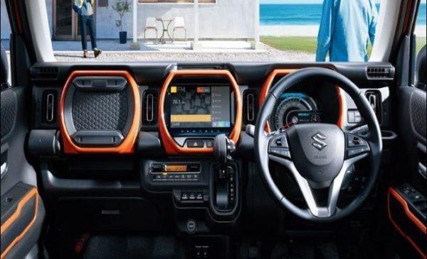 2020 Suzuki Hustler front cabin interior