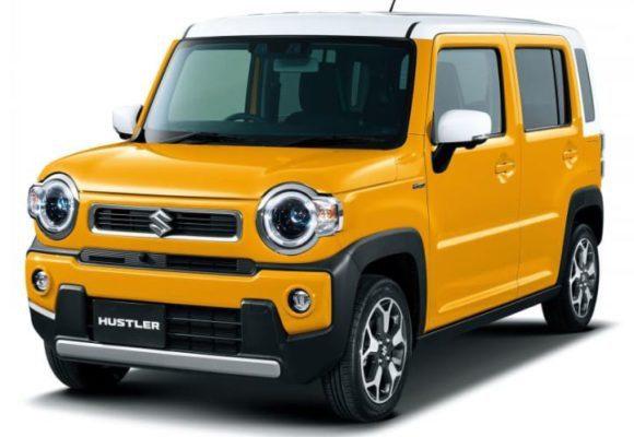 2020 Suzuki Hustler front view