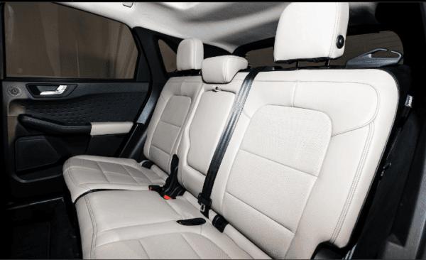 2020 ford Escape rear seats view