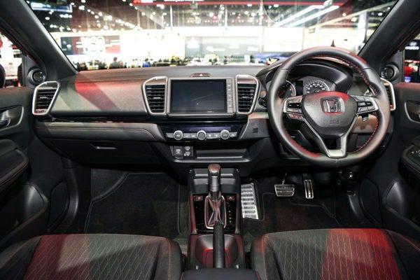 2020 honda city 5th generation interior front cabin