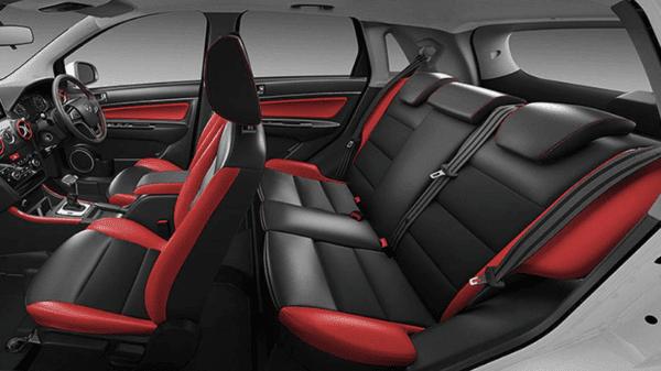 Sazgar BAIC X25 Crossover full interior view