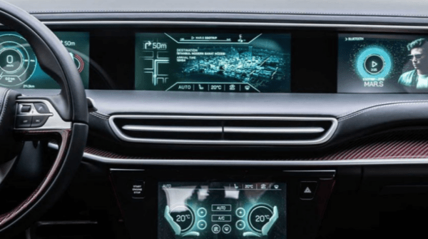 TOGG All Electric SUV entertainment cluster