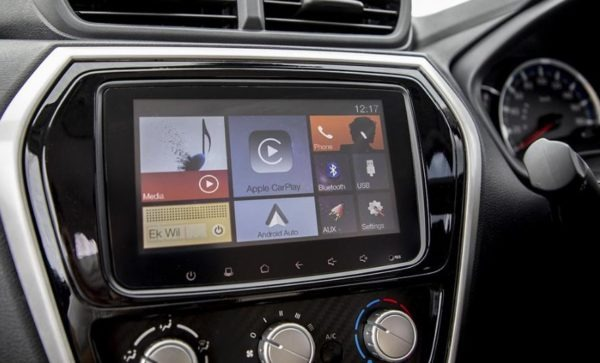 2020 Datsun Go infotainment screen