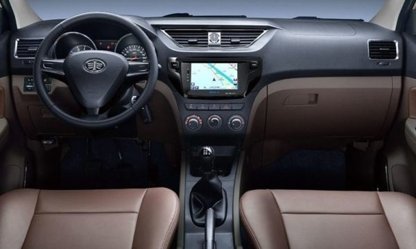 2020 Faw Sirius S80 full front cabin interior view