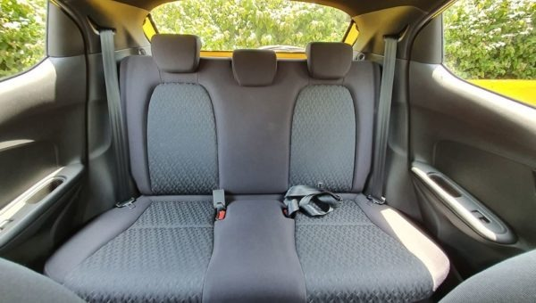 2020 Honda Brio Rear Seats