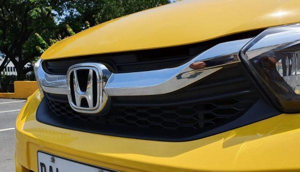 2020 Honda Brio chromed grille