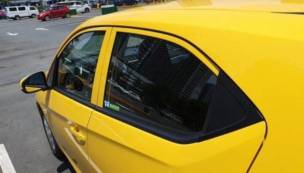 2020 Honda Brio side windows & Mirrors view