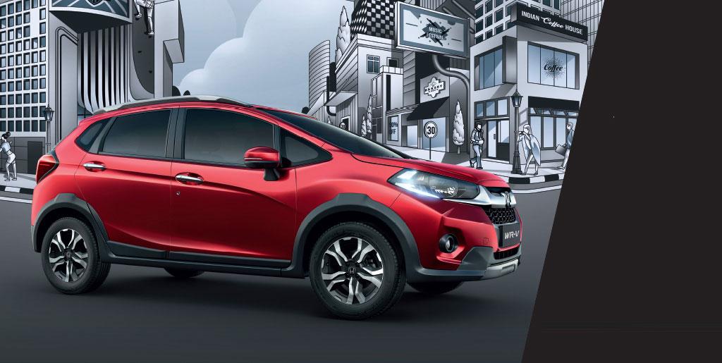 2020 Honda WR-V EXL price, overview, review & photos ...