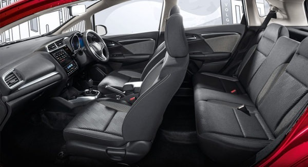 2020 Honda WRV full interior front & rear seats