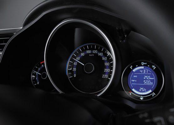 2020 Honda WRV information cluster