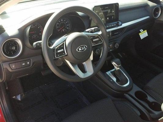 2020 Kia Forte front cabin interior view