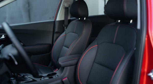 2020 Kia Niro Front Seats & Quality